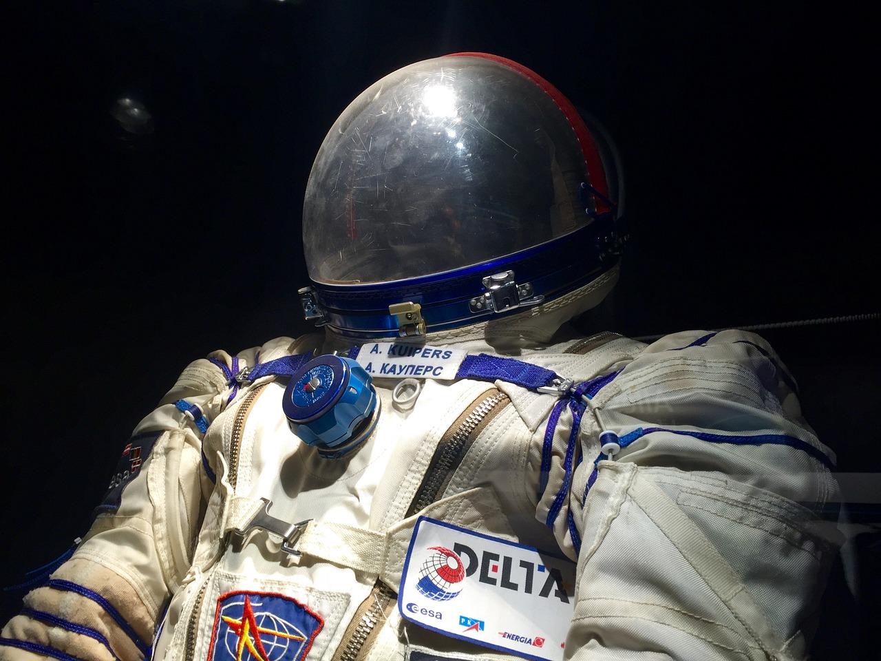 Le costume d'un astronaute