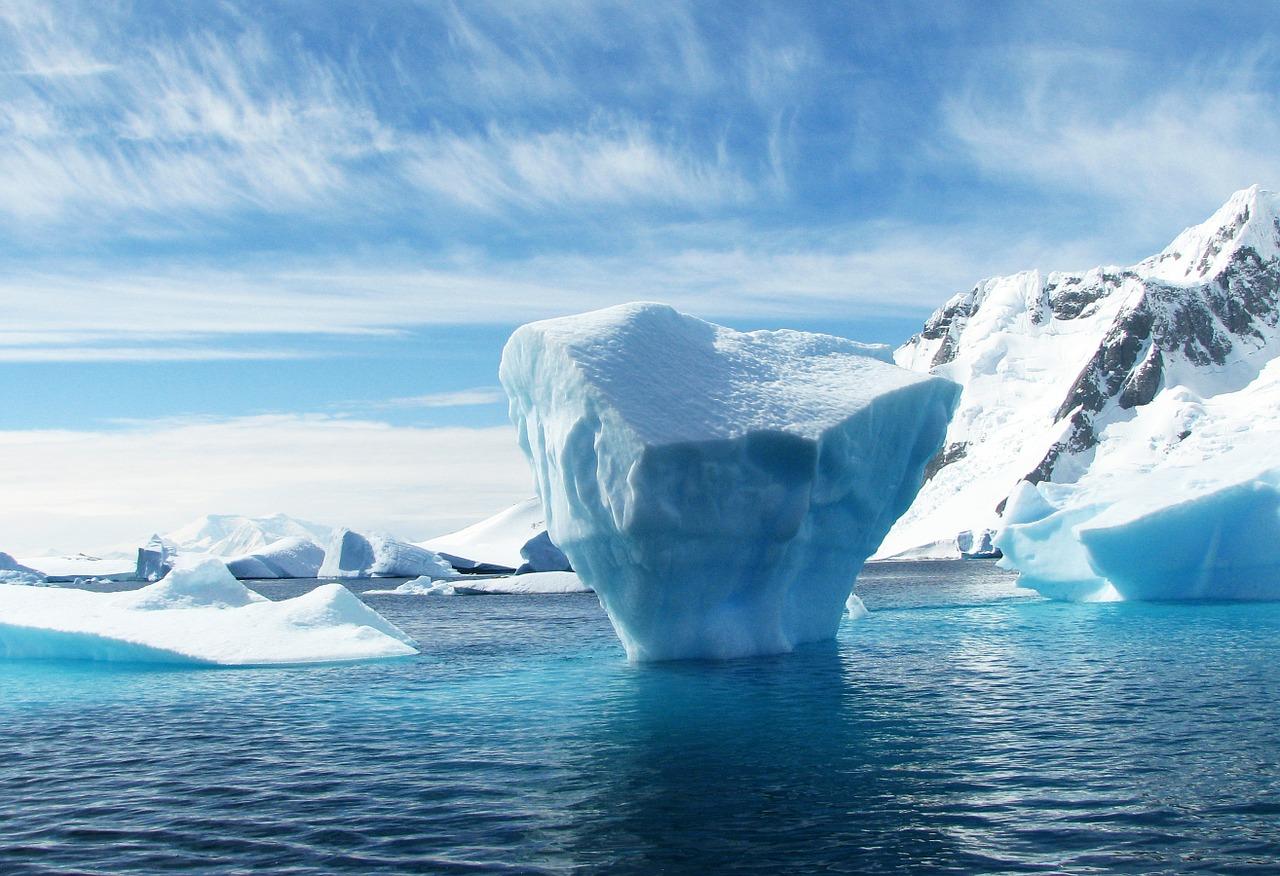 La photo d'un iceberg