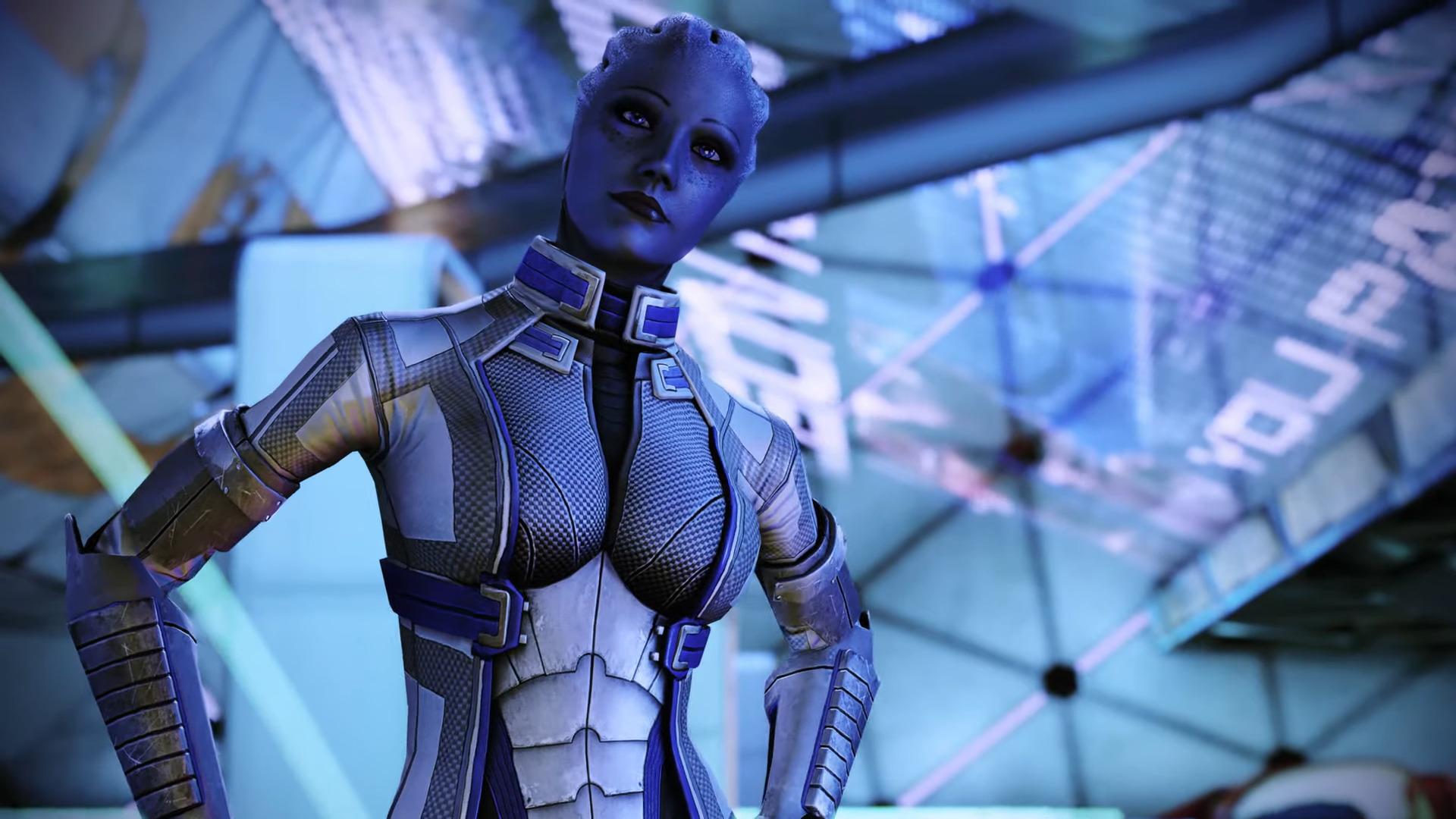 Un personnage de Mass Effect
