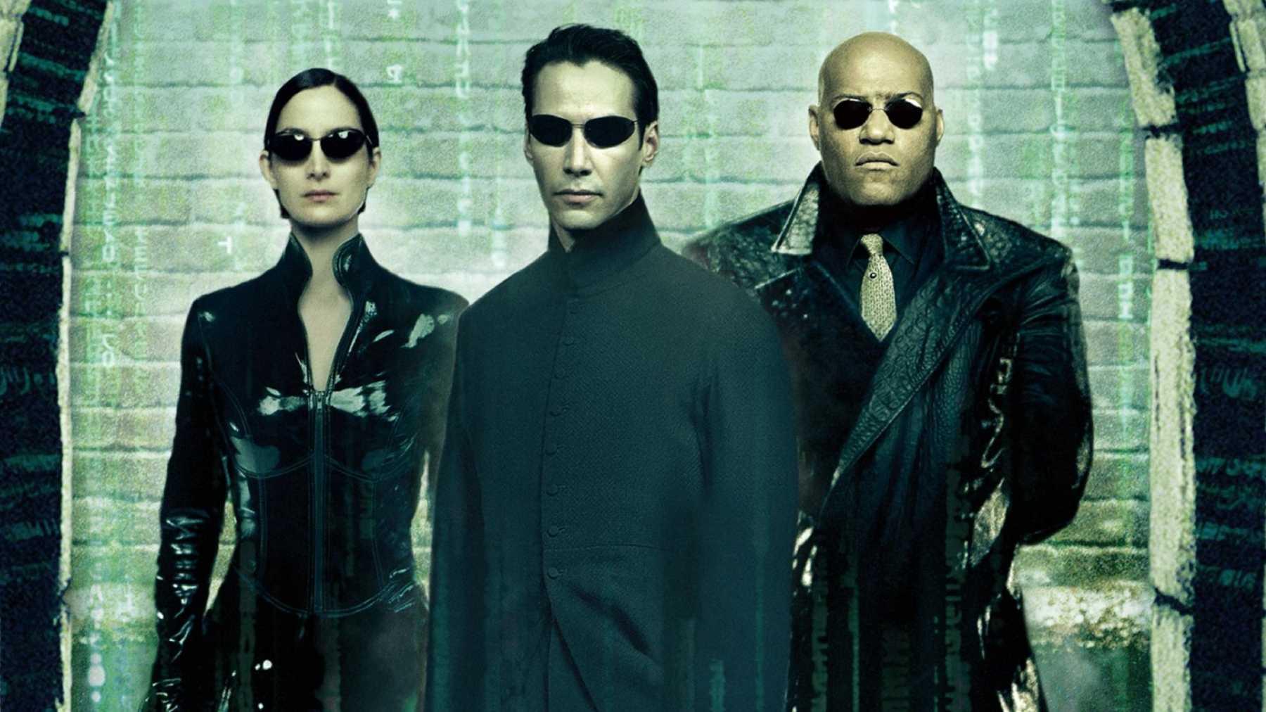 L'affiche du premier Matrix