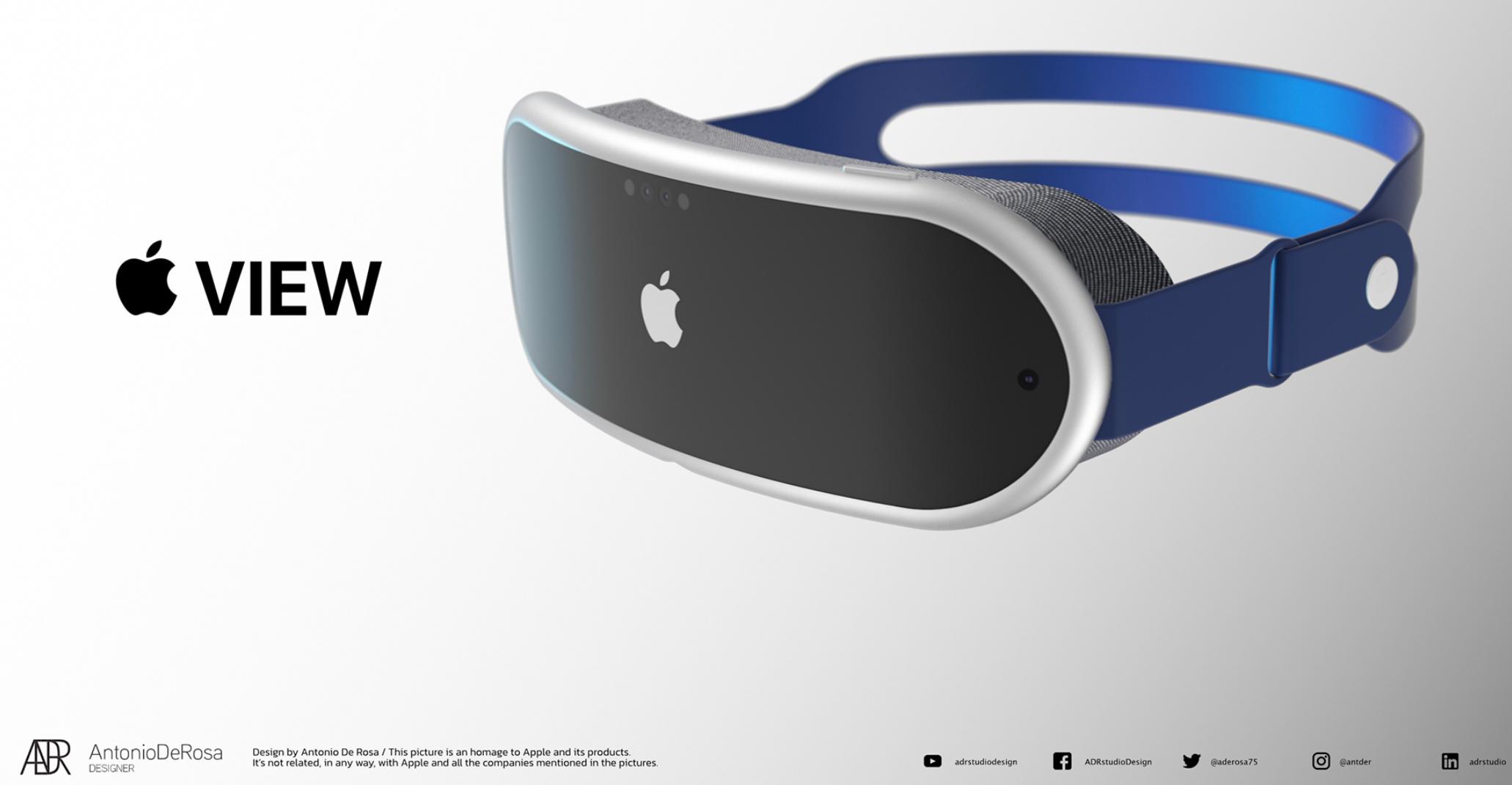 L'Apple View donne une idée de ce que pourrait proposer le futur casque RV d'Apple - crédits Antonio de Rosa
