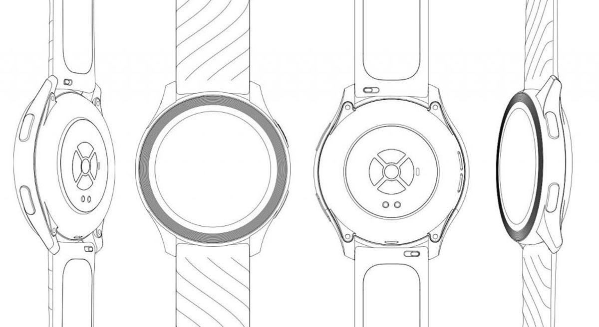 Voilà à quoi ressemblerait la OnePlus Watch - crédits DPMA
