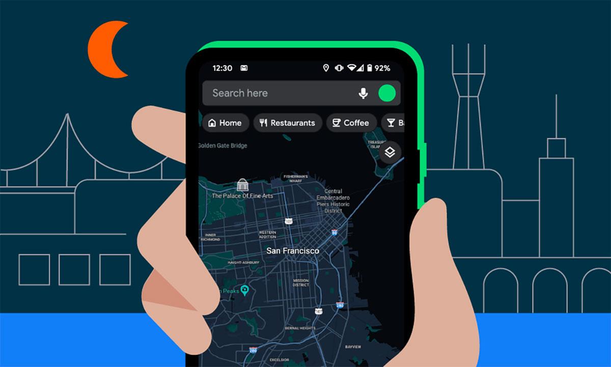 Google Maps va avoir son dark mode sur Android