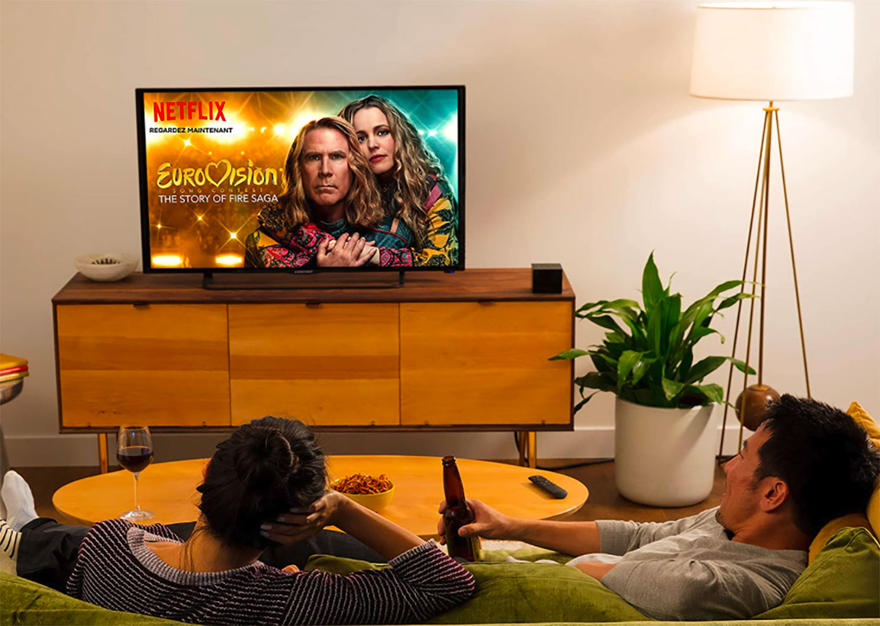 Le Fire TV Cube d'Amazon