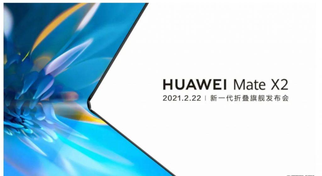 On sait quand sera présenté le Huawei Mate X2