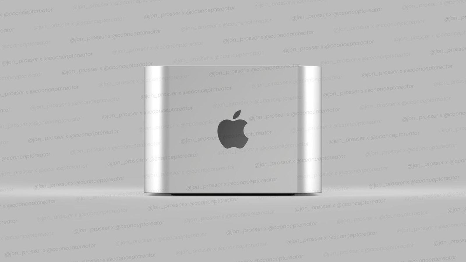 Le Mac Pro Apple Silicon imaginé par Jon Prosser et Concept Creator
