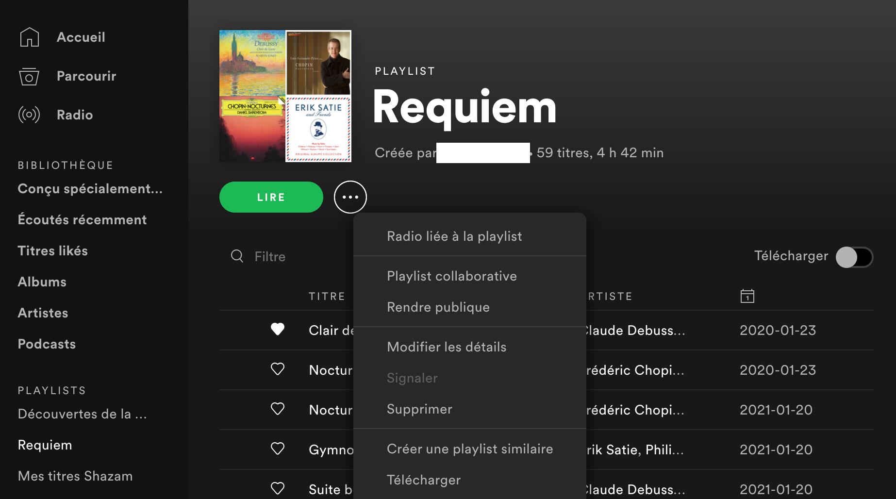 Et si vous rendiez vos playlists publiques ?