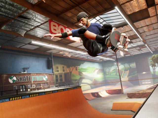 Tony Hawk's Pro Skater 1 + 2 vient grinder sur PS5, Xbox Series X S et Switch en mars prochain