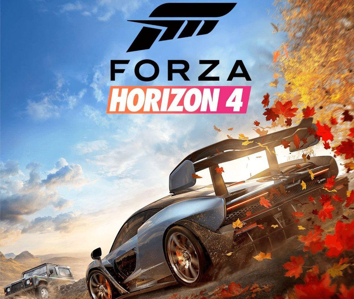 La jaquette de Forza Horizon 4