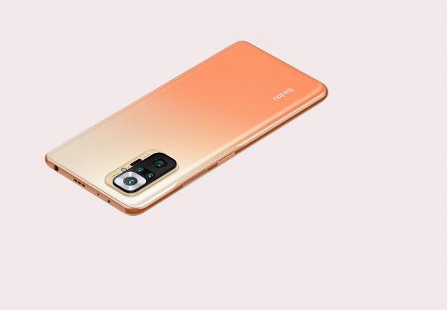 Le Redmi Note 10 Pro en version orange
