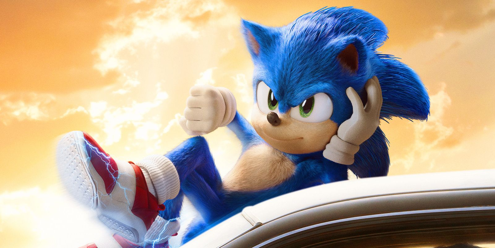 Un extrait de Sonic le film