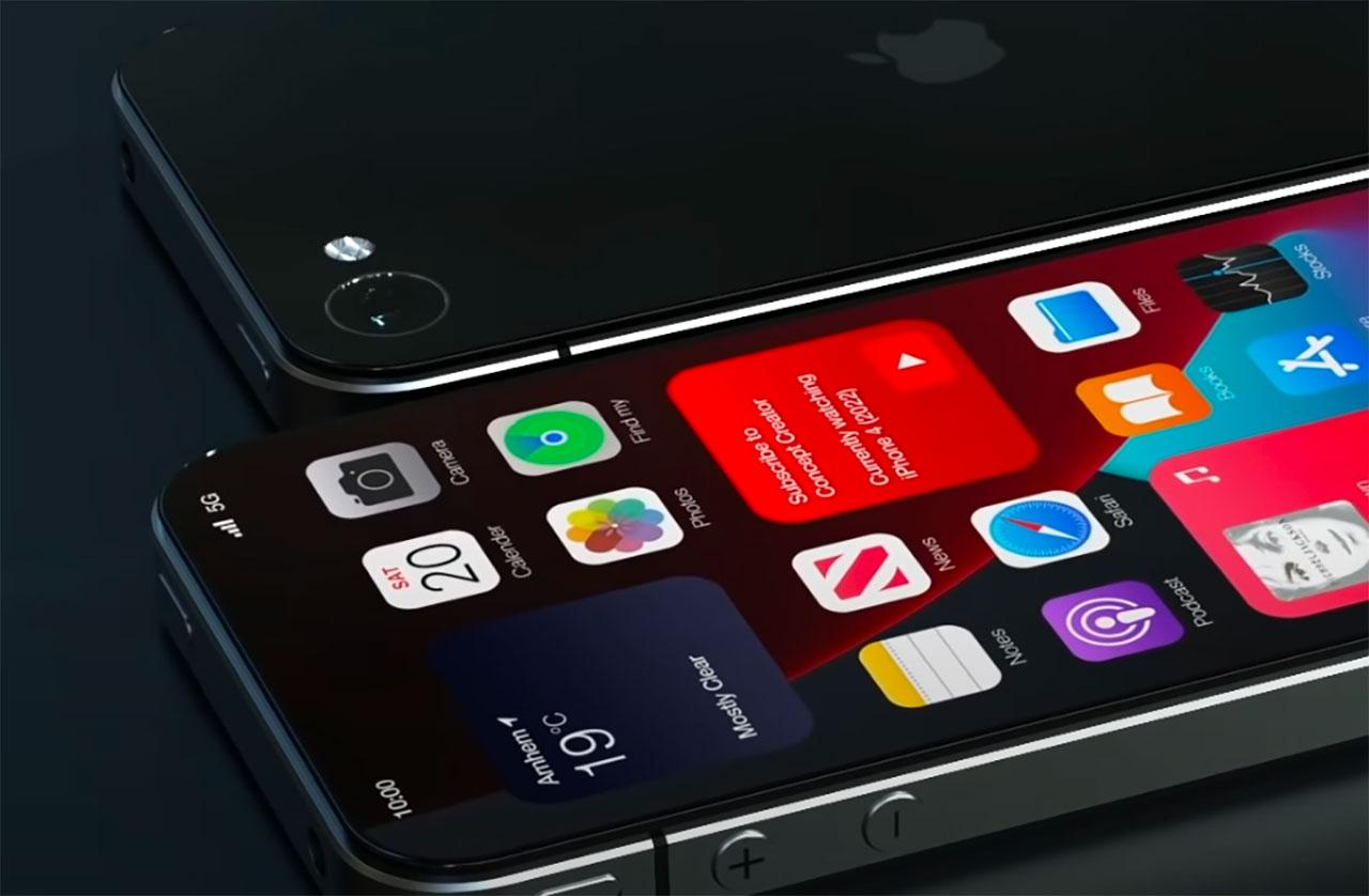 Ce concept d'iPhone 4 devrait rappeler de bons souvenirs à celles et ceux qui ont connu les premiers iPhone - crédits Concept Creator