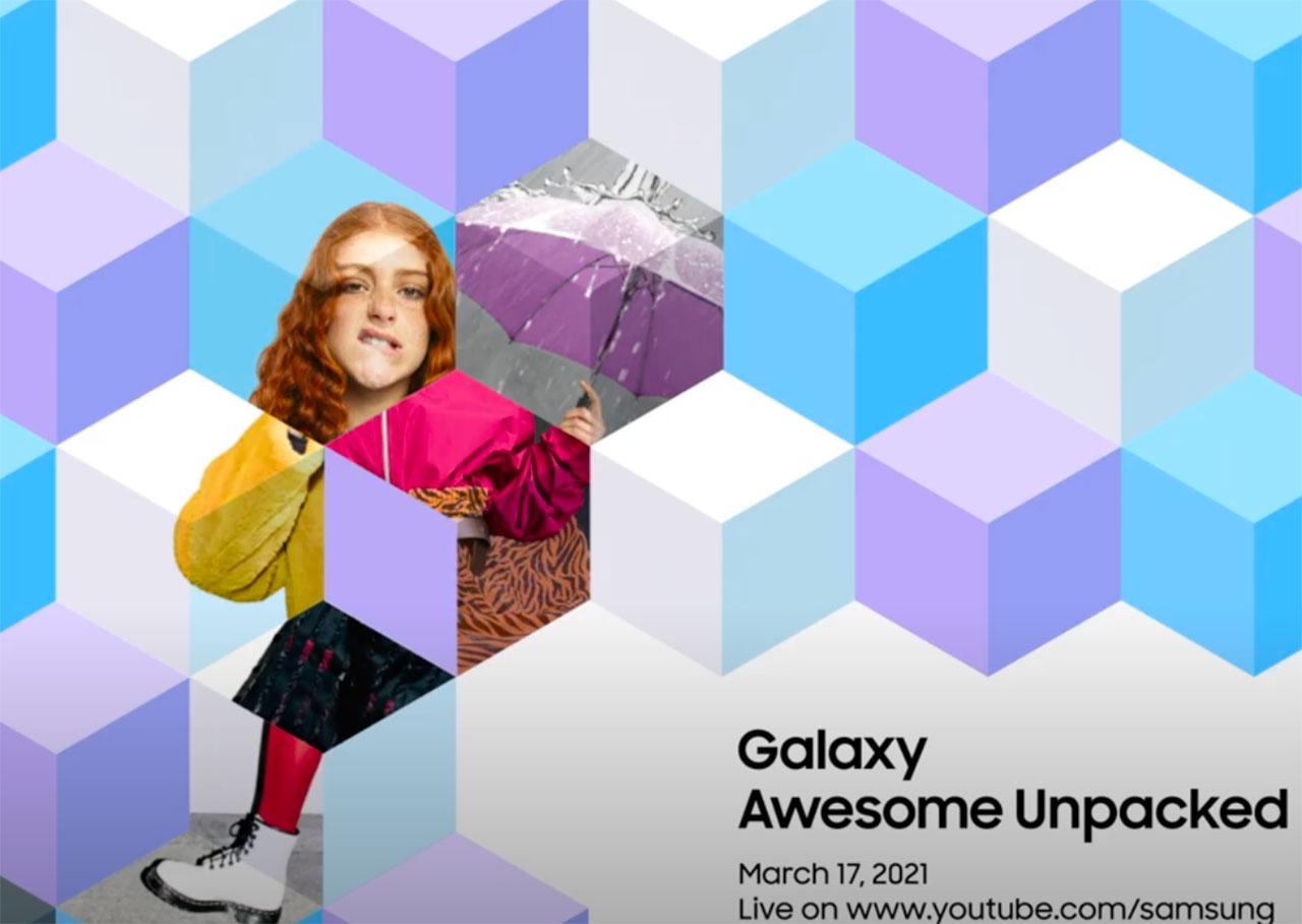 Cette ado n'a pas l'air contente - crédits Samsung