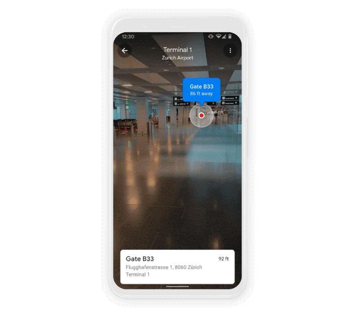 Google Live View fonctionnera bientôt en intérieur