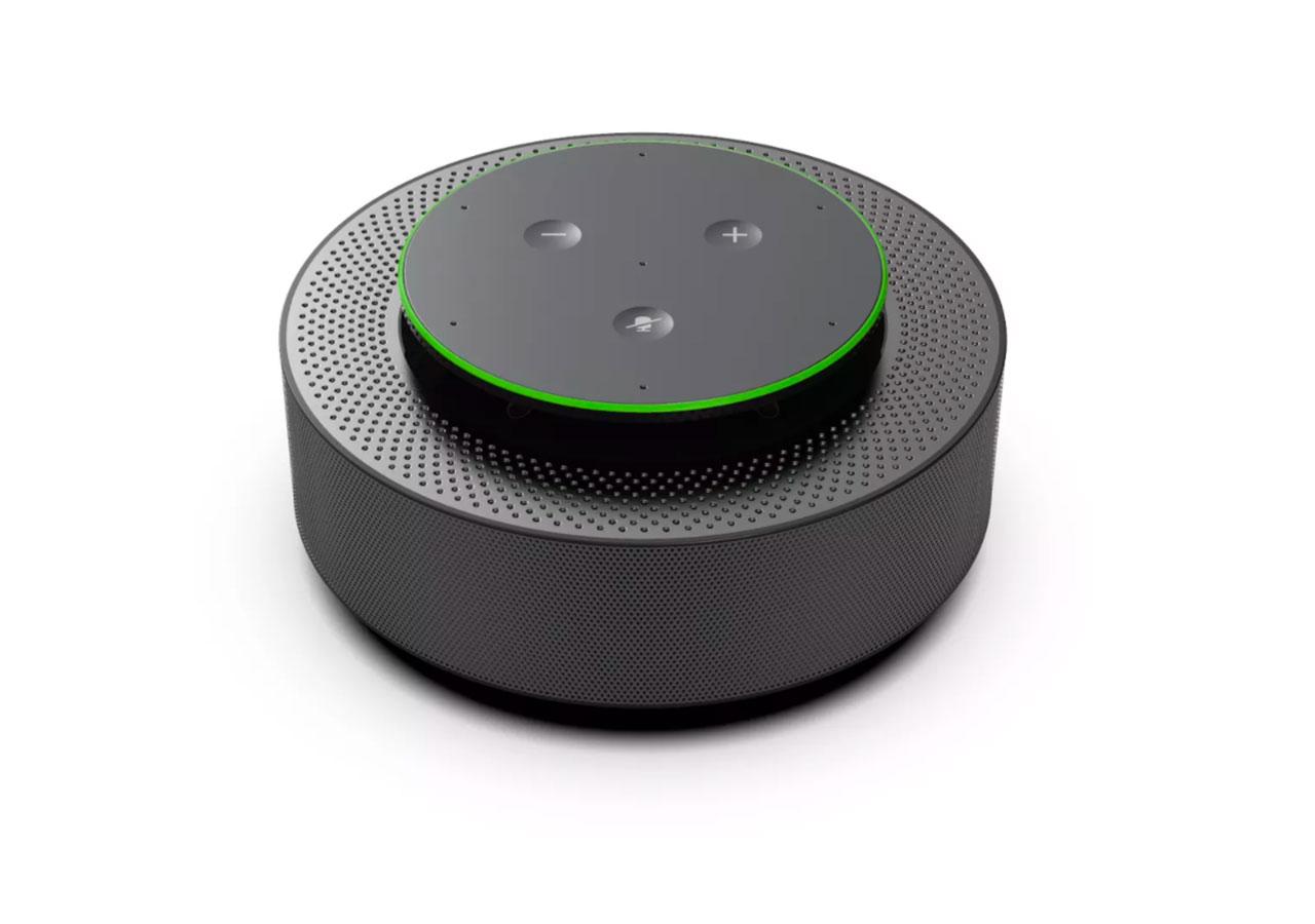 Bientôt un haut-parleur capable de transcrire en temps réel les conversations de Teams - crédits Microsoft