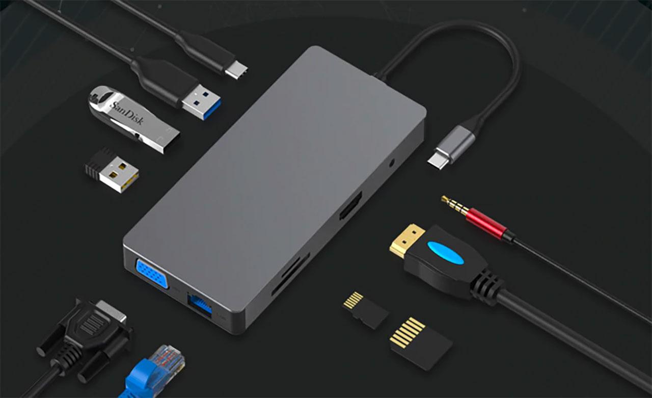 Ce Hub USB Type-C devrait intéresser les propriétaires d'un MacBook Air ou d'un MacBook Pro