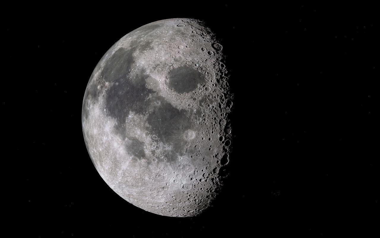 Une photo de la Lune
