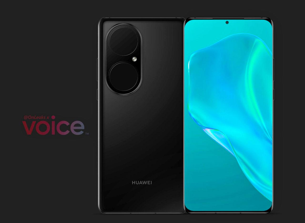 Voilà à quoi devrait ressembler le Huawei P50 Pro - crédits OnLeaks