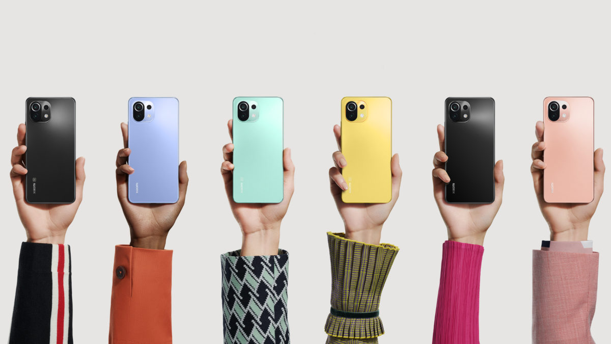 Les Xiaomi Mi 11 Lite