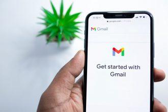 Gmail sur un iPhone