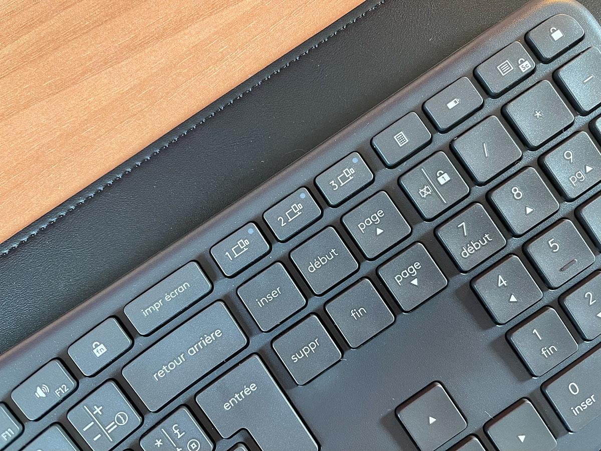 Il est tout à fait possible de piloter plusieurs appareils à partir du clavier