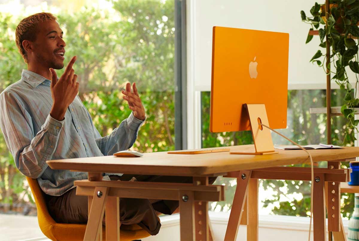 L'iMac (2021) marque une rupture - crédits Apple