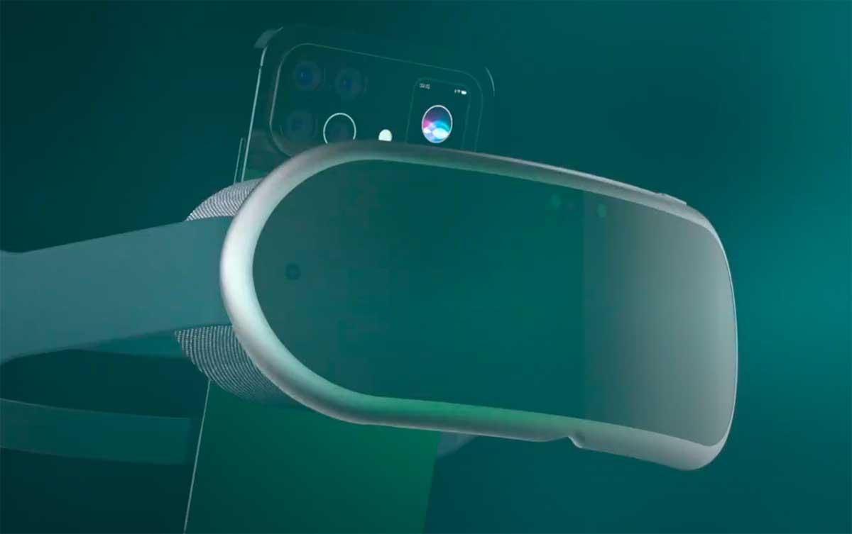 Un concept d'Apple VR - crédits Antonio De Rosa