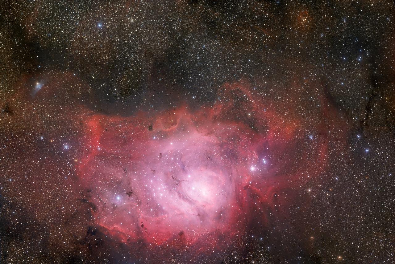 Une galaxie dans l'espace