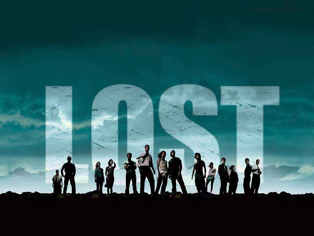 L'affiche de Lost, une série qui aura marqué son époque
