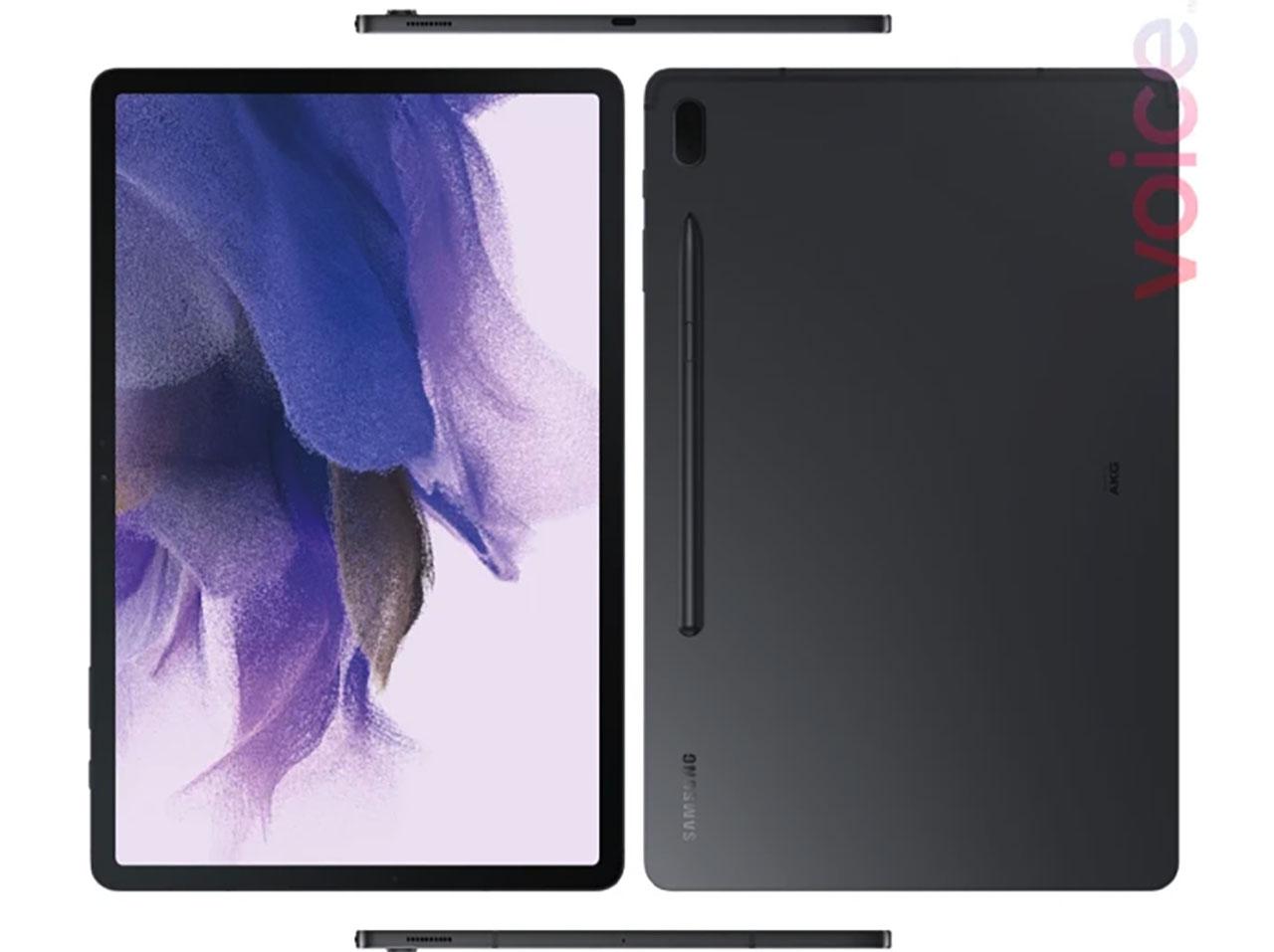 La Galaxy Tab S7 Lite 5G vue sous tous les angles - crédits Evan Blass