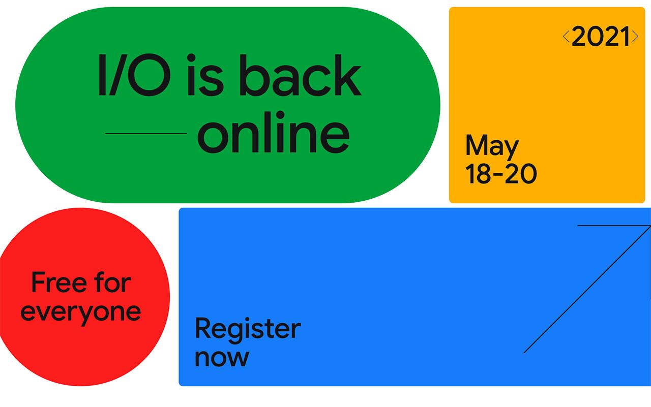 La Google I/0 aura lieu en mai