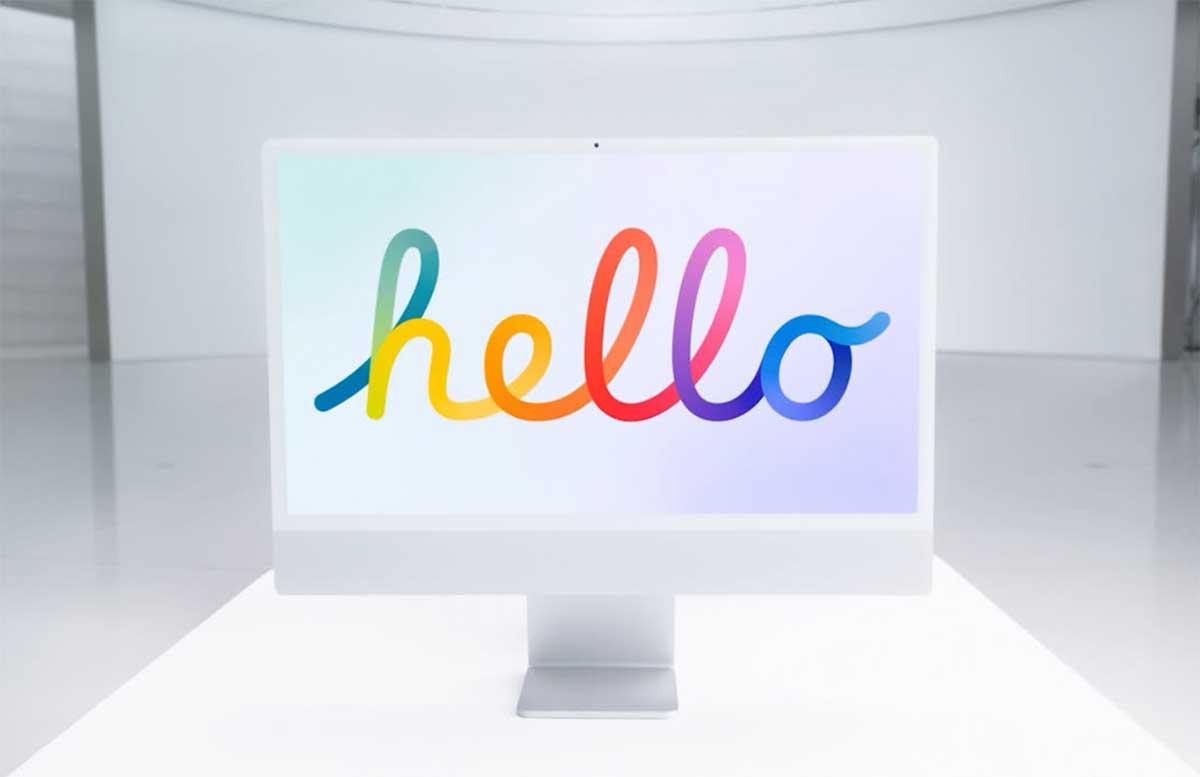 L'iMac 2021 vous dit bonjour