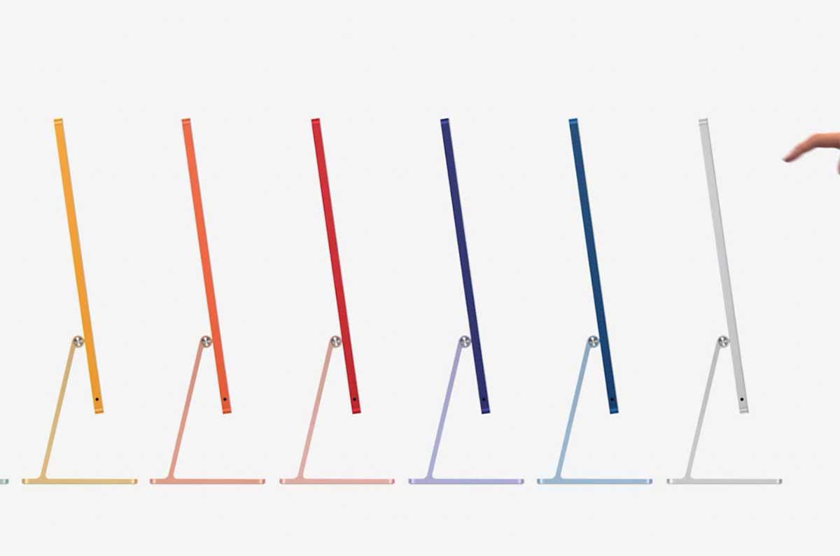 L'iMac 2021 est un modèle de finesse