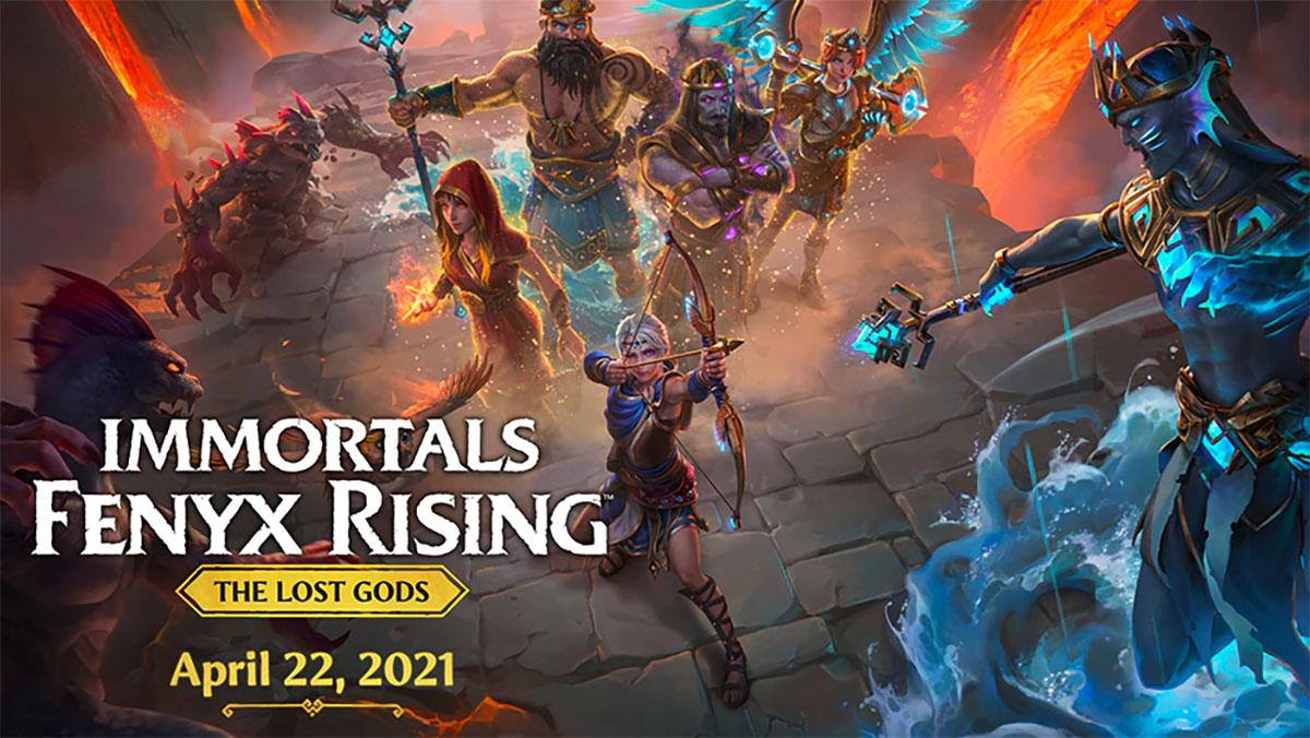 Immortals Fenyx Rising va avoir droit à un nouveau DLC - crédits Ubisoft