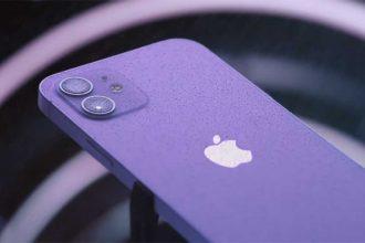 L'iPhone 12 Mini en violet
