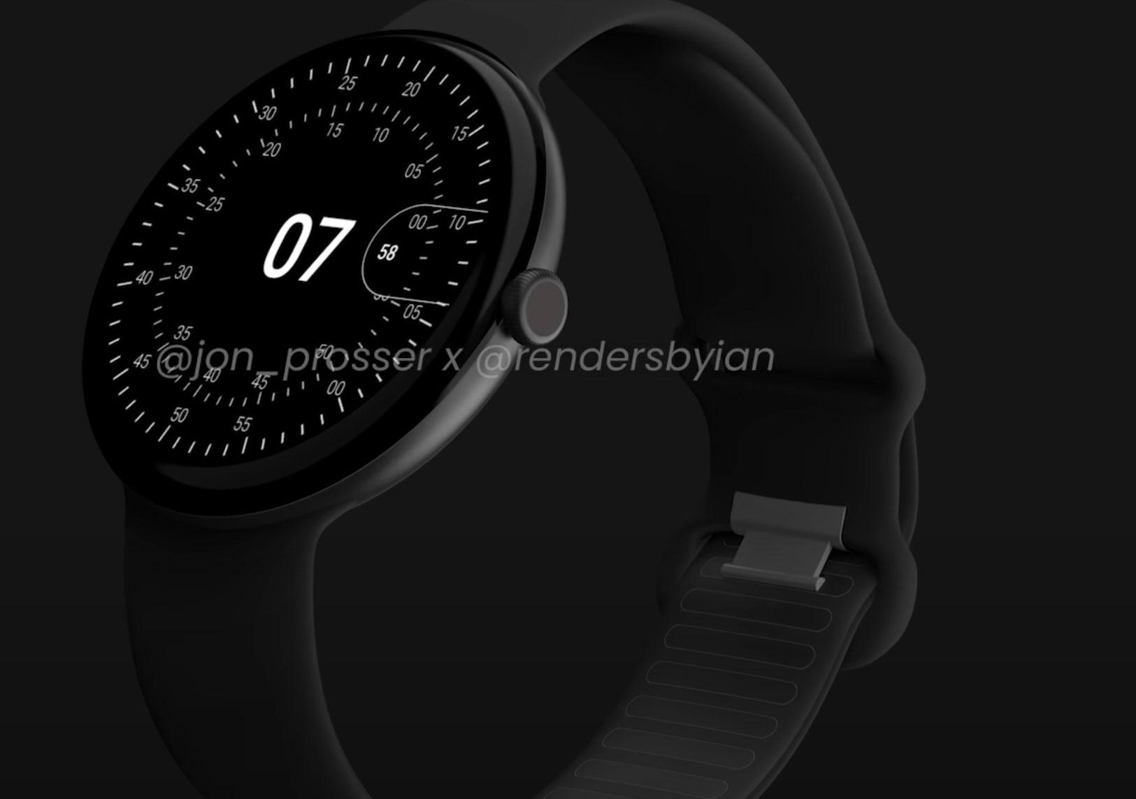 La Pixel Watch vue par Jon Prosser