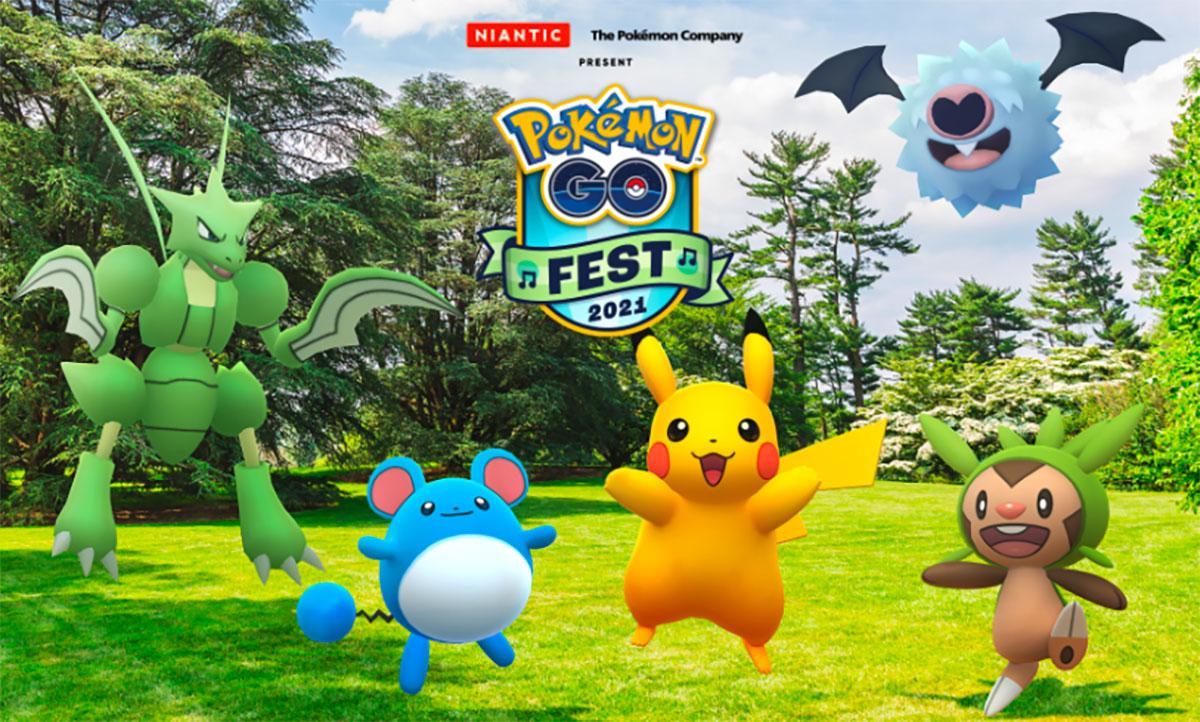 Le Pokémon Go Fest 2021 se déroulera en juillet - crédits Niantic