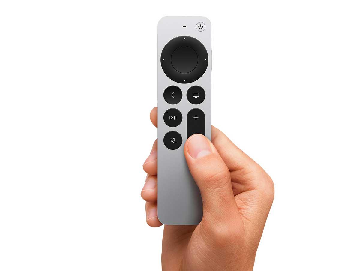 La Siri Remote 2021 - crédits Apple