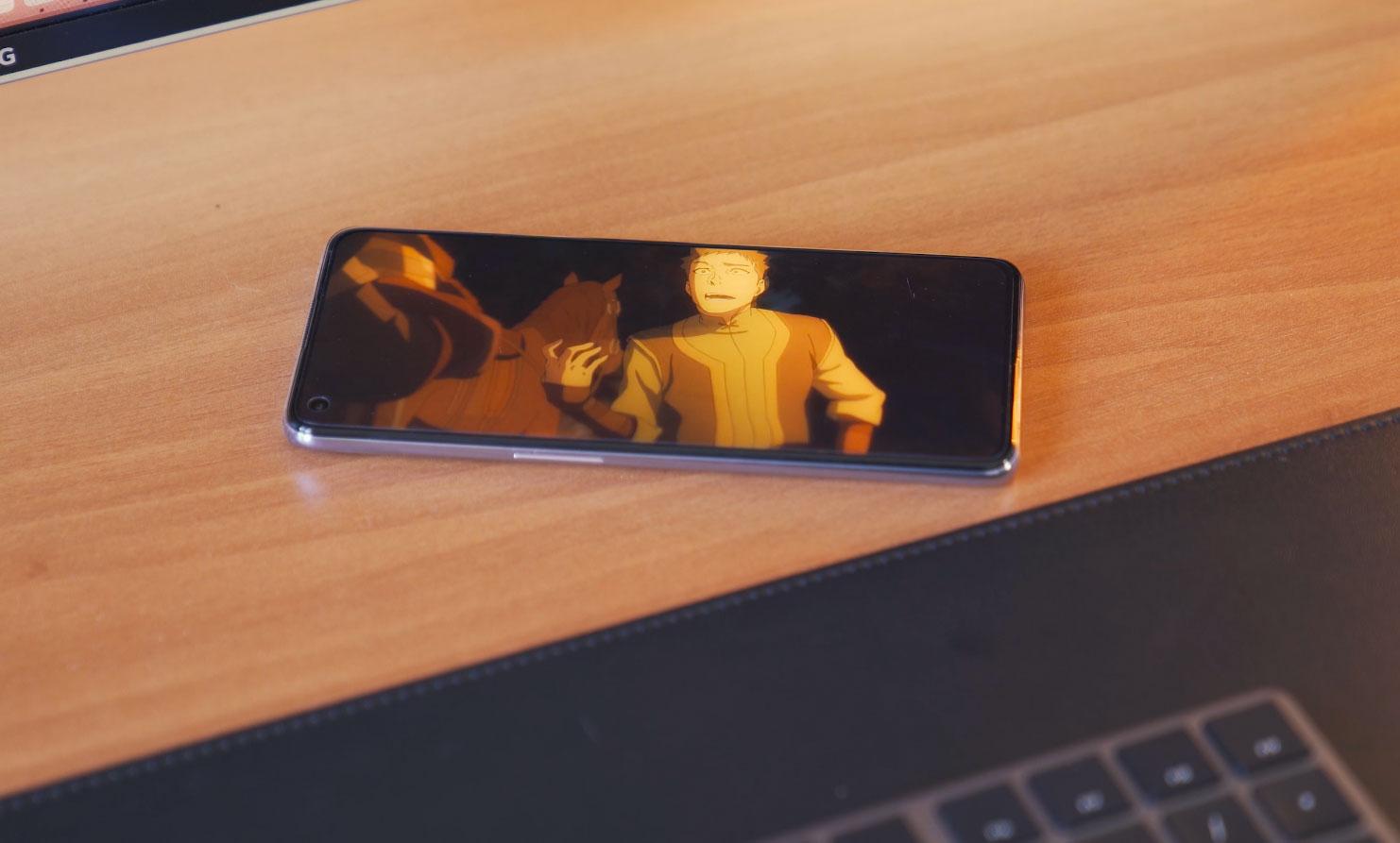 L'écran borderless est un régal pour les yeux