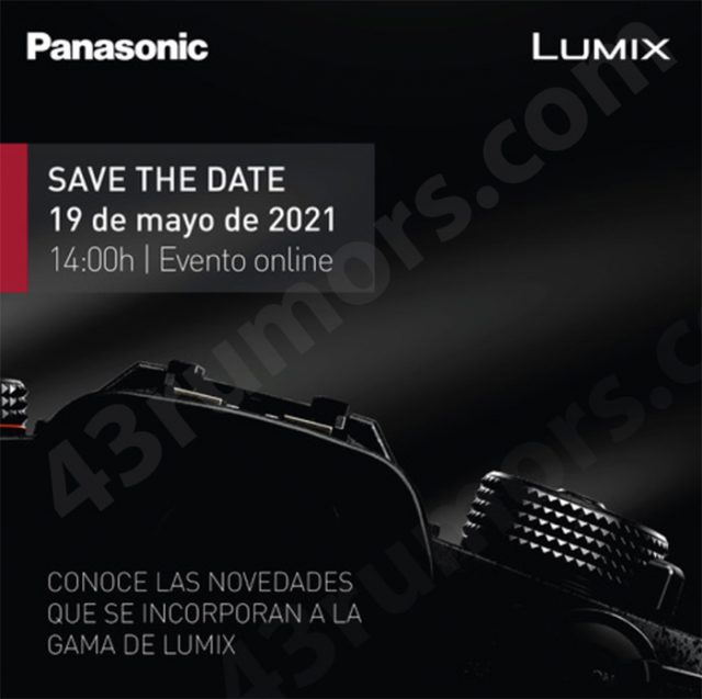 Panasonic a prévu quelque chose le 19 mai