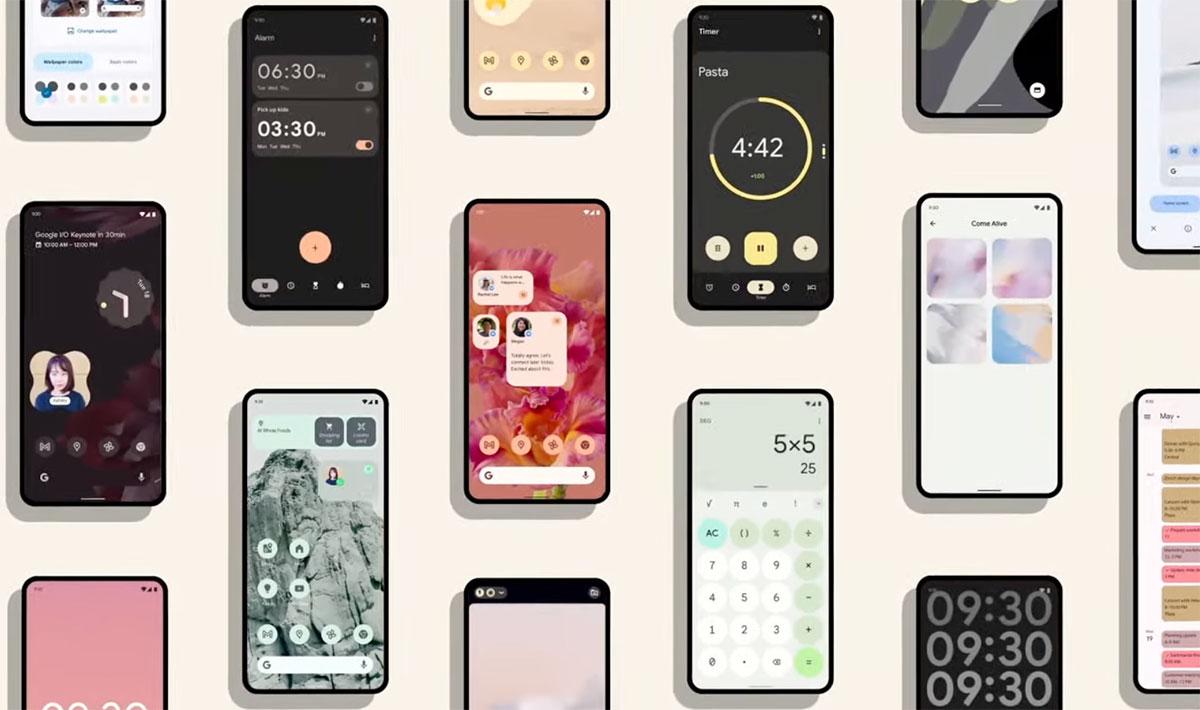 Android 12 mise sur la personnalisation