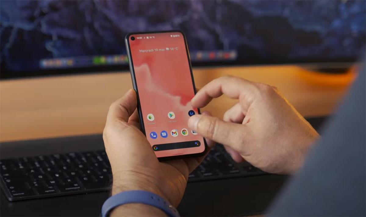 Android 12 Bêta 1 sur un Pixel 5