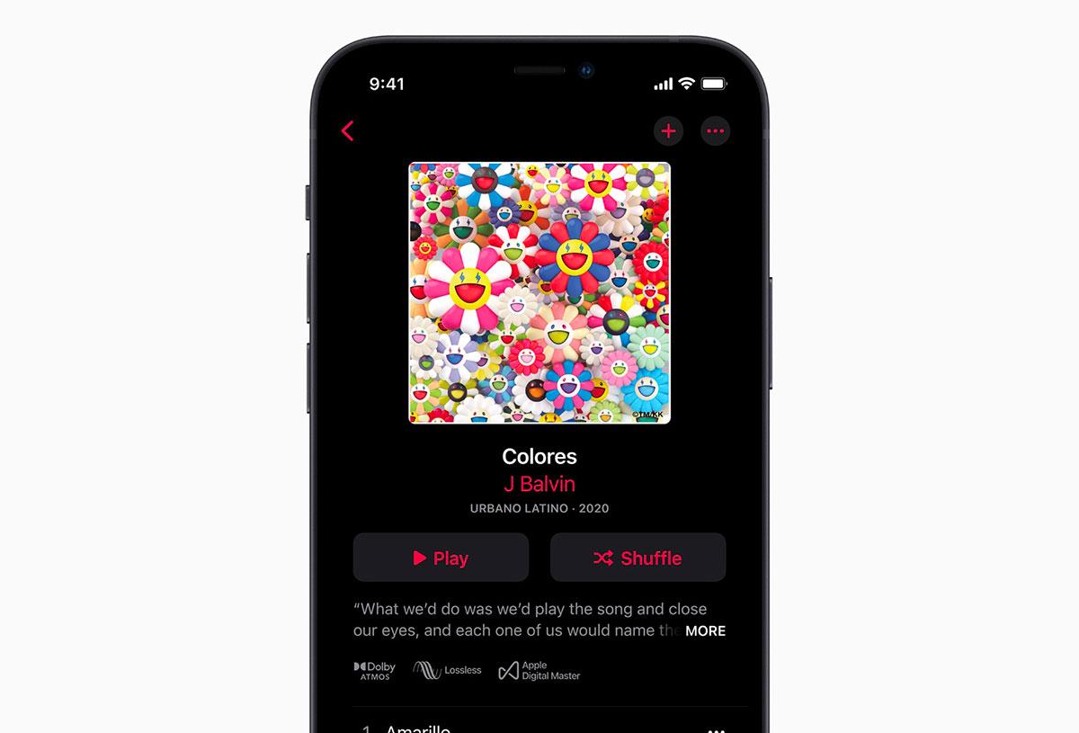 Apple Music va mettre le paquet sur le son - crédits Apple