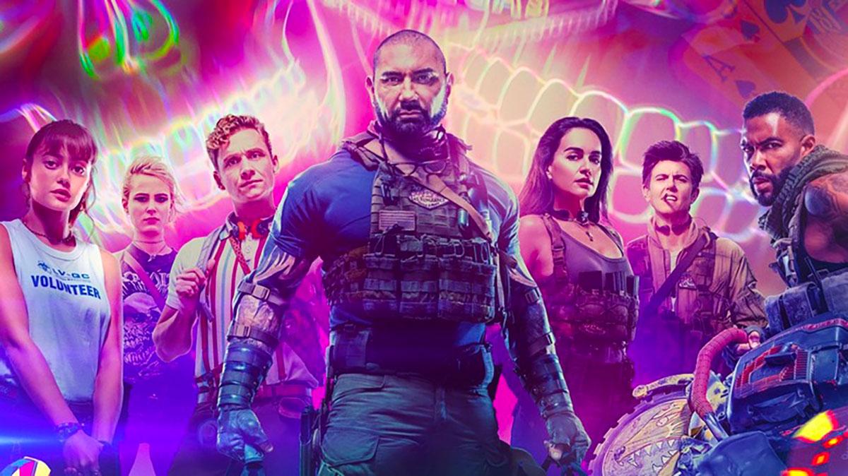 L'affiche du film Army of the Dead de Zack Snyder