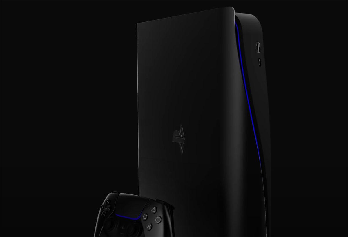 Une PlayStation 5 Slim de toute beauté - crédits Concept Creator