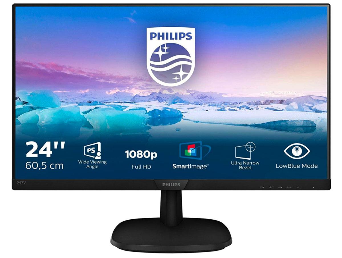 L'écran Philips 243V7QDSB