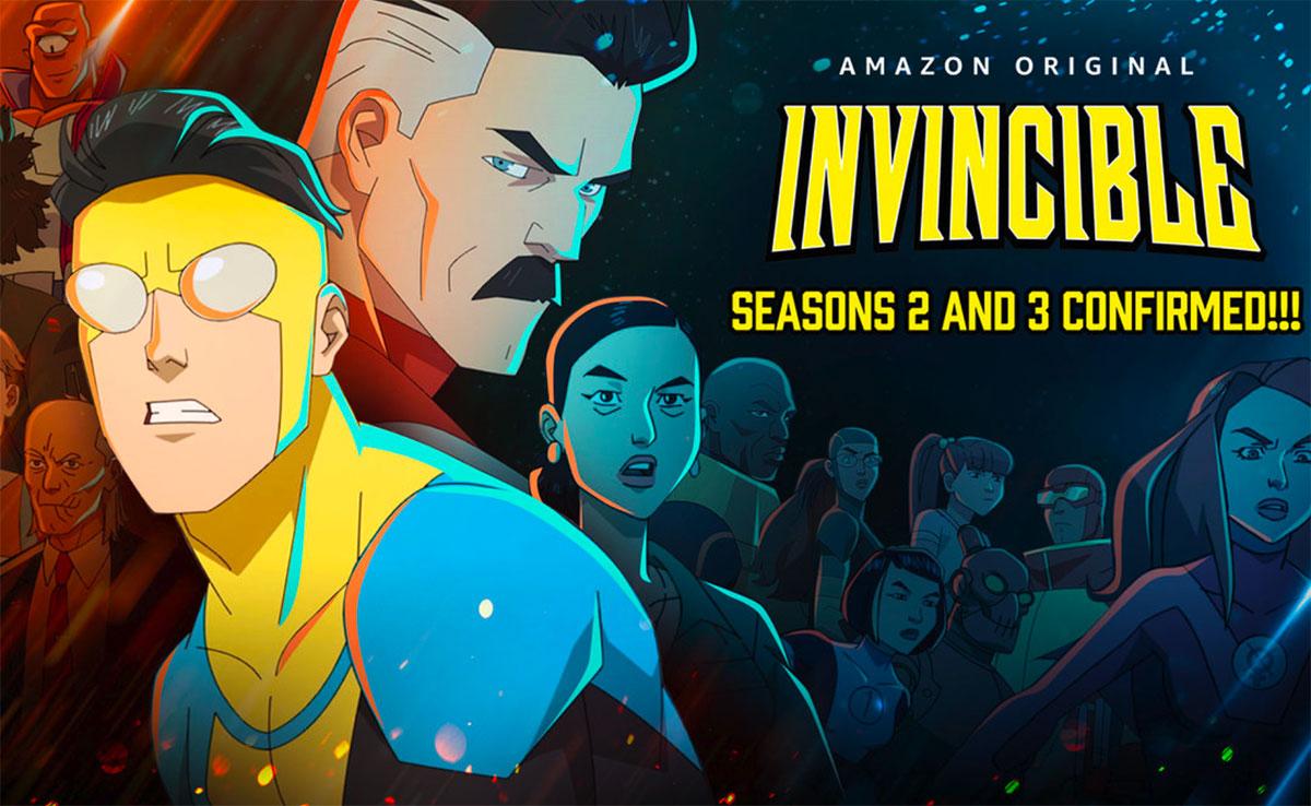Invincible va revenir pour deux nouvelles saisons