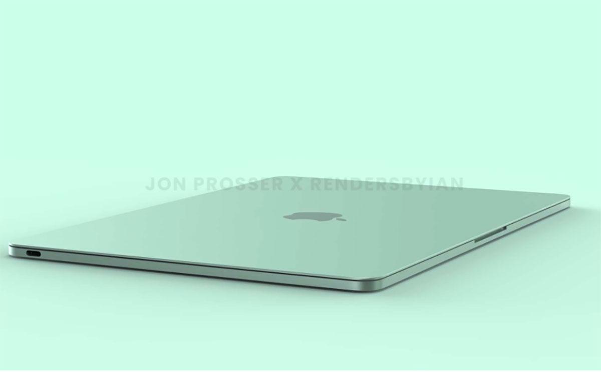 Le MacBook Air (2021) en vert