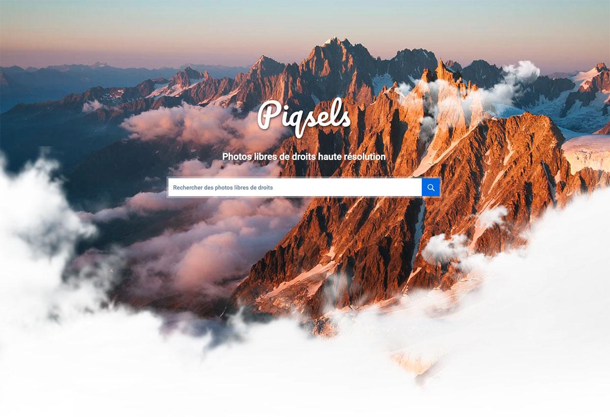 Piqsels, une nouvelle banque d'images gratuites et libres