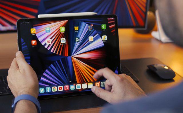 En consultation, l'iPad Pro (2021) est redoutable